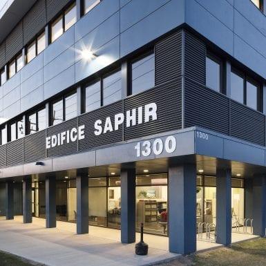 Saphir extérieur